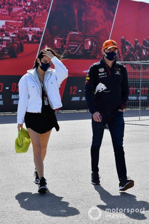 Kelly Piquet en Max Verstappen, Red Bull Racing