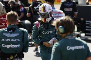 Sebastian Vettel, Aston Martin, op de grid