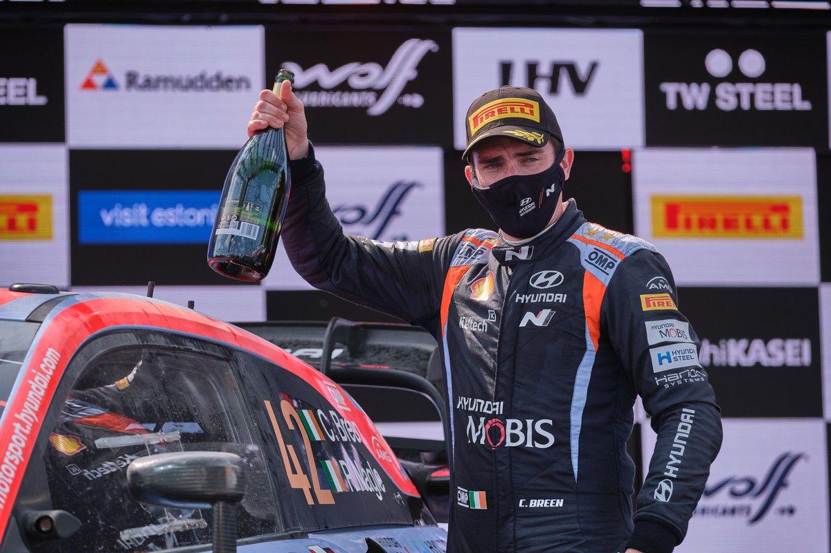 Podio: Craig Breen, Hyundai Motorsport