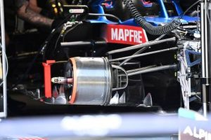 Alpine A521 front brake duct detail