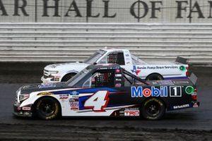 John Hunter Nemechek, Kyle Busch Motorsports, Toyota Tundra Mobil 1, Tate Fogleman, Young's Motorsports, Chevrolet Silverado Basin Pump Down Services