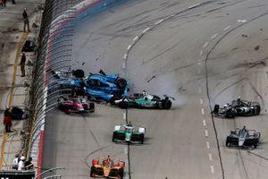 Crash at race start