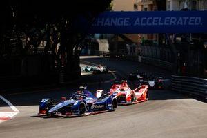 Nick Cassidy, Envision Virgin Racing, Audi e-tron FE07, Alex Lynn, Mahindra Racing, M7Electro