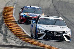 Christopher Bell, Joe Gibbs Racing, Toyota Camry Sirius XM and Kyle Busch, Joe Gibbs Racing, Toyota Camry Skittles Red, White & Blue