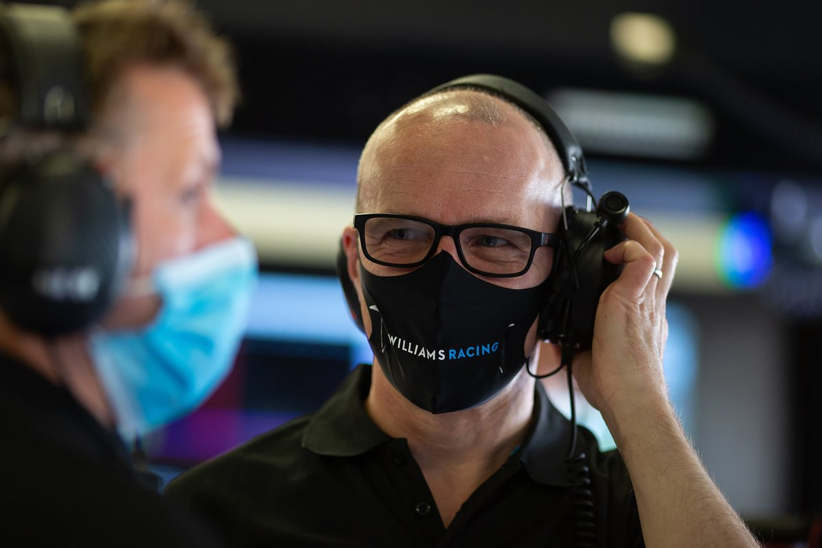 Simon Roberts, Williams Racing F1 Managing Director