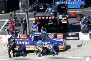 Derek Kraus, McAnally Hilgemann Racing, Toyota Tundra Ron Hornaday Throwback