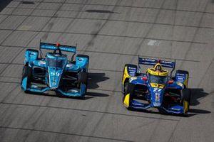 Alexander Rossi, Andretti Autosport Honda, Conor Daly, Carlin Chevrolet