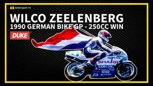 Wilco Zeelenberg 250cc Nürburgring 1990 overwinning