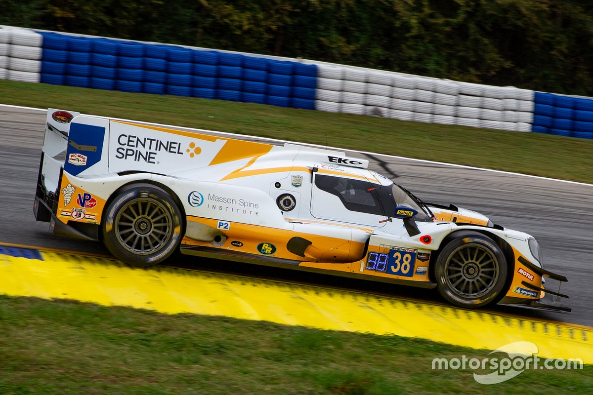 #38 Performance Tech Motorsports ORECA LMP2 07, LMP2: Colin Braun, Matt Bell, James McGuire