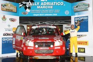 Andrea Luchini, Piero Bosco, Island Motorsport, Suzuki New Grand Vitara T2
