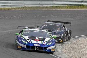 #14 Emil Frey Racing Lamborghini Huracan GT3 Evo: Mikäel Grenier, Norbert Siedler