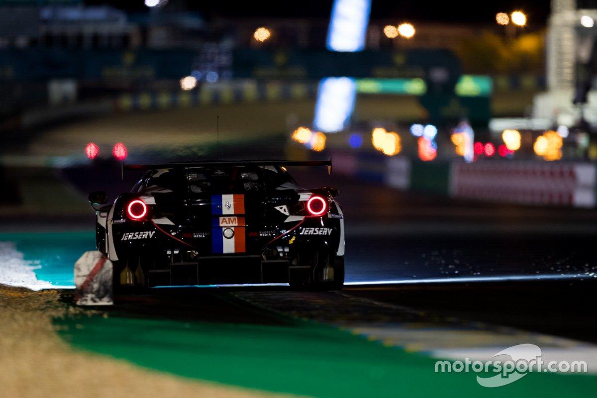 #83 AF Corse - Ferrari 488 GTE Evo: Francois Perrodo, Emmanuel Collard, Nicklas Nielsen