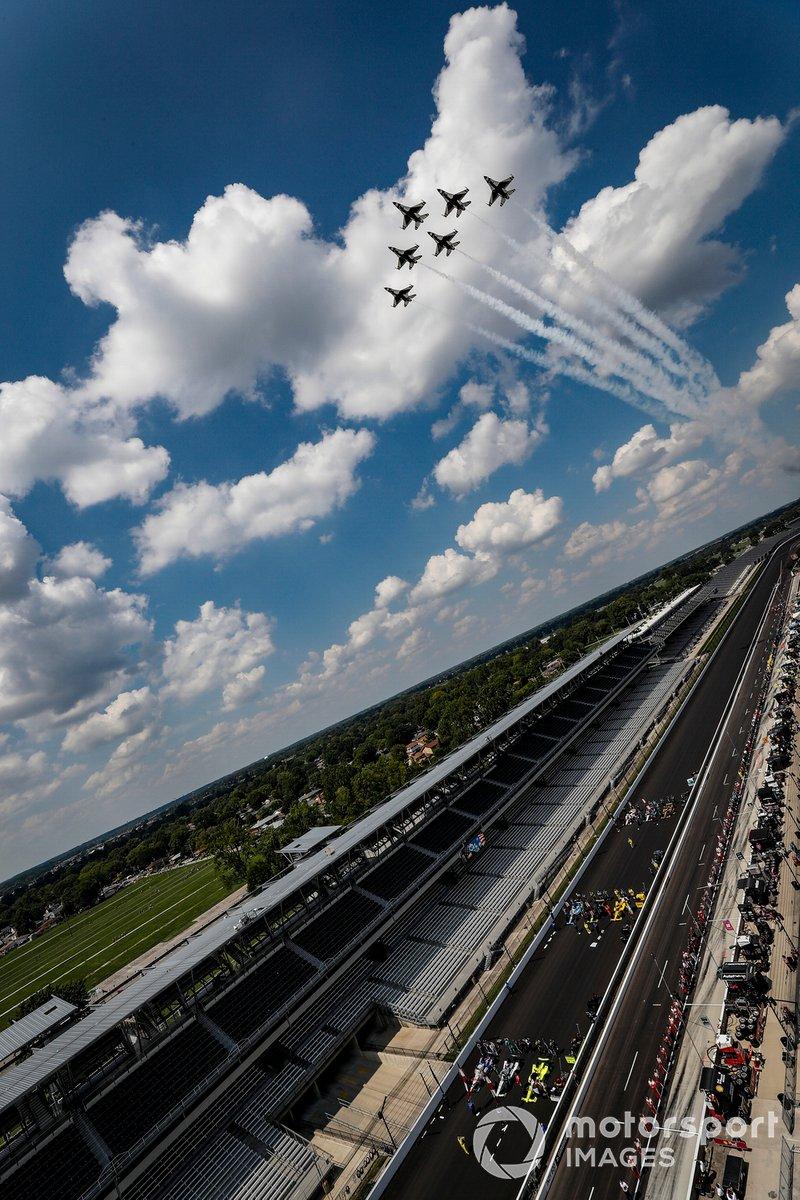 Exhibición de los Thunderbirds