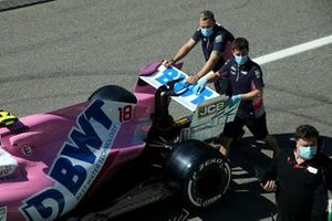 Racing Point RP20, dettaglio dell'ala posteriore