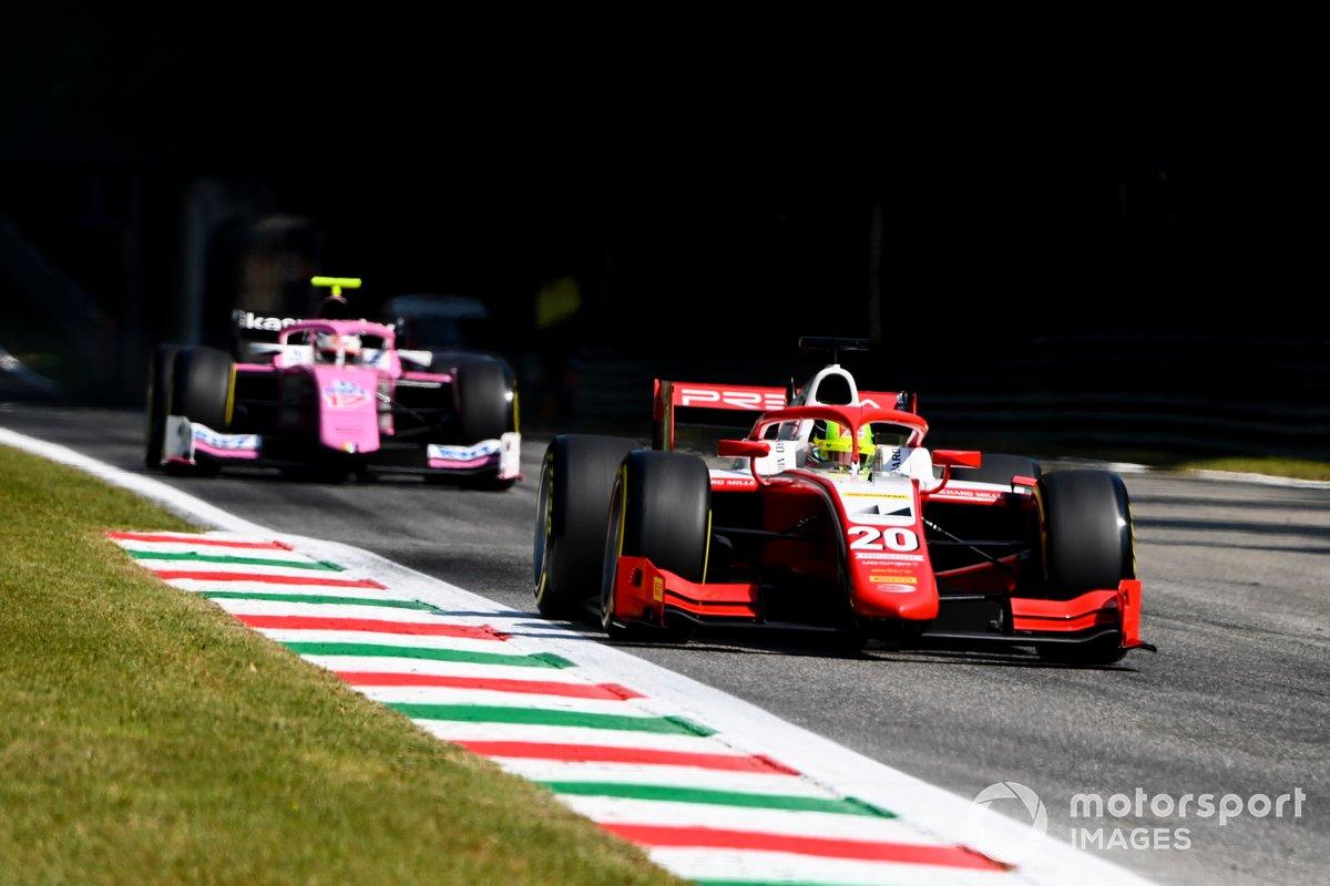 Mick Schumacher, Prema Racing y Giuliano Alesi, BWT HWA Racelab