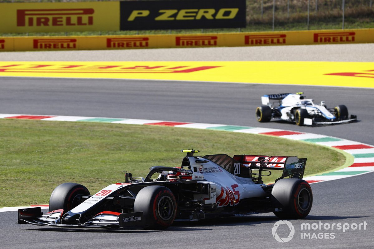 Kevin Magnussen, Haas VF-20, Nicholas Latifi, Williams FW43