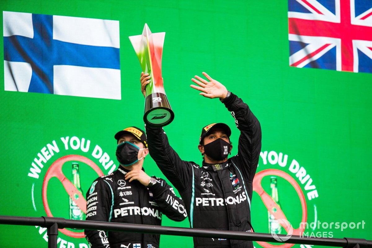 Valtteri Bottas, Lewis Hamilton, Mercedes-AMG F1