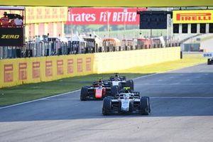Luca Ghiotto, Hitech Grand Prix, leads Felipe Drugovich, MP Motorsport