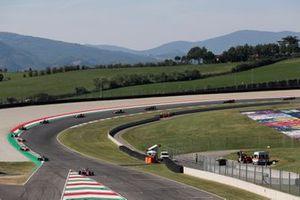 Lirim Zendeli, Trident, Jake Hughes, HWA Racelab et Frederik Vesti, Prema Racing