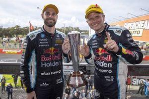 Race winners: Shane van Gisbergen, Garth Tander, Triple Eight Race Engineering Holden