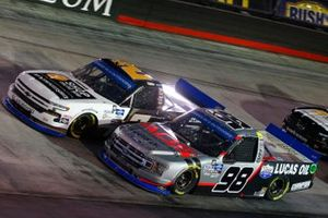 Grant Enfinger, ThorSport Racing, Ford F-150 ADS/Lucas Oil, Sheldon Creed, GMS Racing, Chevrolet Silverado Chevy Accessories
