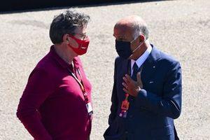 Louis Camilleri, PDG et Président, Ferrari, avec Angelo Sticchi Damiani, Président, Autombile Club d' Italia
