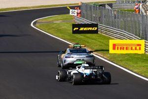 The Safety Car Nicholas Latifi, Williams FW43