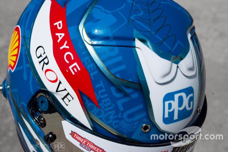 Scott McLaughlin's 2020 Bathurst 1000 helmet
