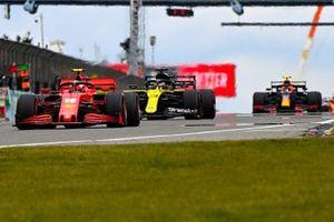 Charles Leclerc, Ferrari SF1000, Daniel Ricciardo, Renault F1 Team R.S.20, Alex Albon, Red Bull Racing RB16