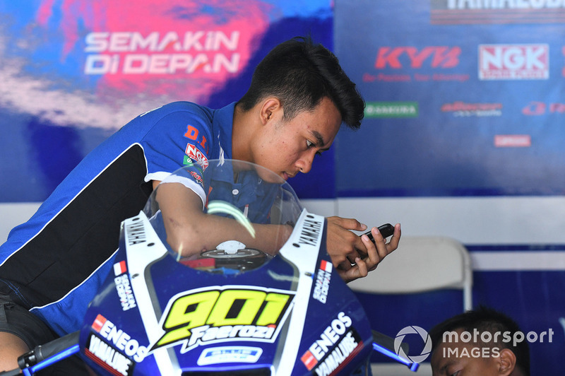 M Faeroz, Yamaha Racing Indonesia