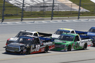 Noah Gragson, Kyle Busch Motorsports, Toyota Tundra Safelite AutoGlass Ben Rhodes, ThorSport Racing, Ford F-150 The Carolina Nut Co.