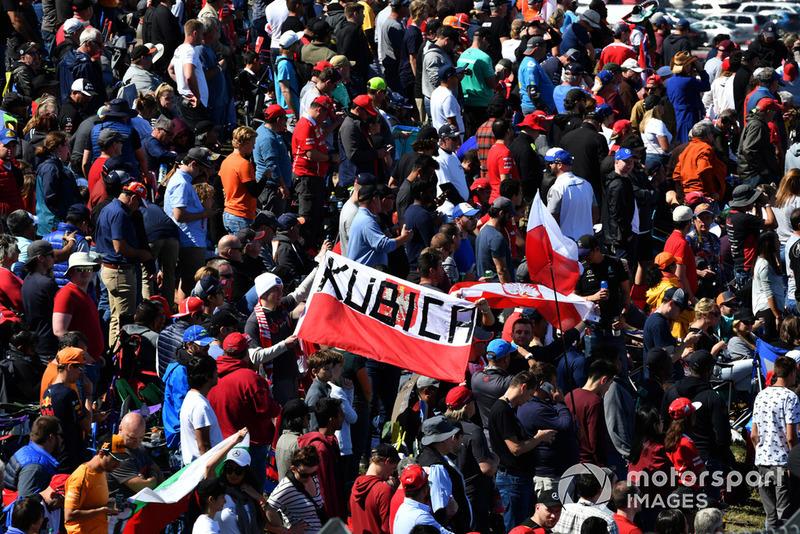 Fans Robert Kubica, Williams