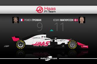 Дуэль в Haas F1 Team: Грожан – 9 / Магнуссен – 11