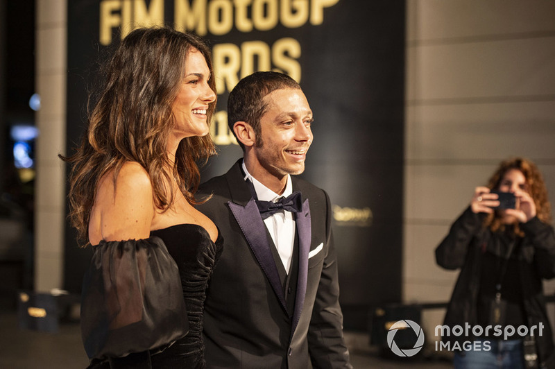 Valentino Rossi, Yamaha Factory Racing et sa petite amie