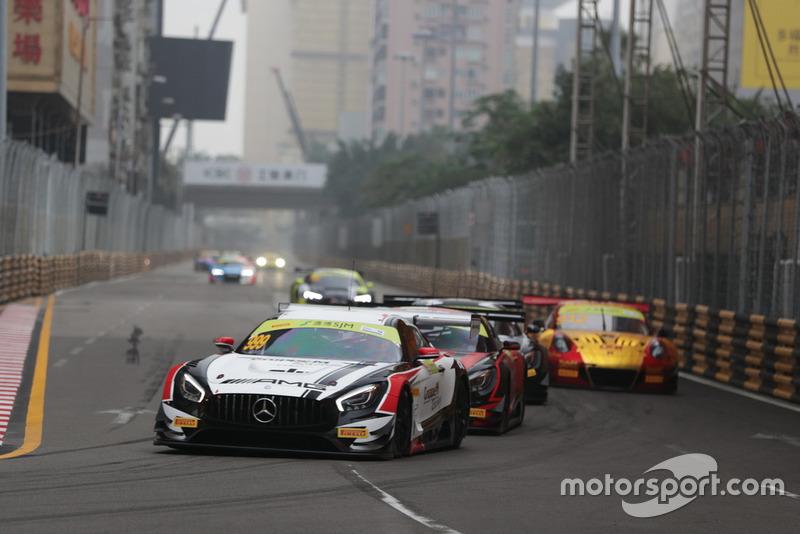 #999 Mercedes-AMG Team GruppeM Racing Mercedes - AMG GT3: Raffaele Marciello