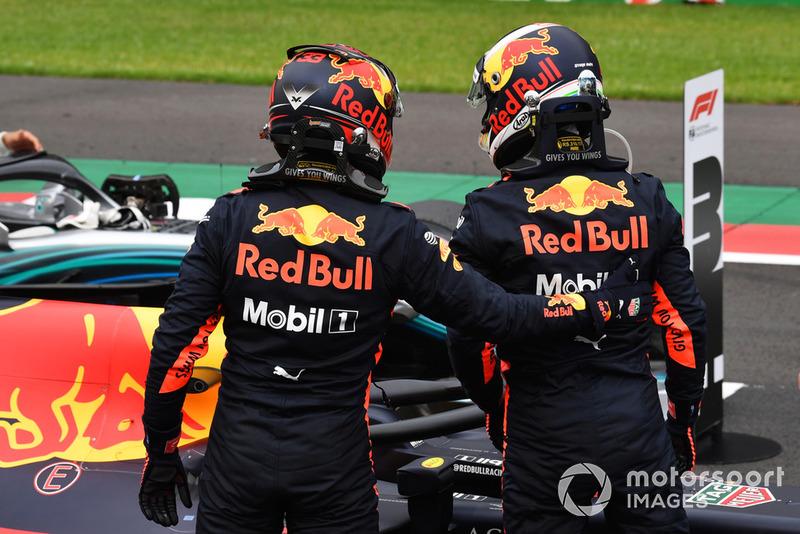 2018 - Daniel Ricciardo e Max Verstappen