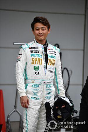 Hiroki Yoshimoto lors du tour de démonstration des Légendes