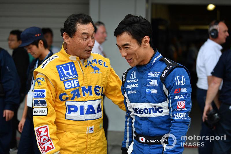 Satoru Nakajima és Takuma Sato