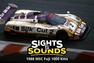 Sights & Sounds: WSC Fuji 1000km 1988 met Jan Lammers
