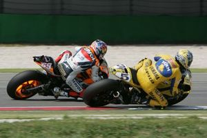 Nicky Hayden et Colin Edwards