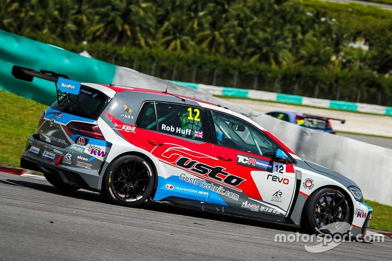 Rob Huff, Teamwork Motorsport, Volkswagen Golf GTI TCR