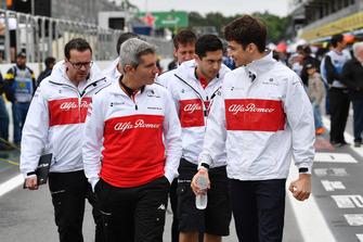 Charles Leclerc, Sauber y Xevi Pujolar, Sauber jefe de ingenieros
