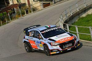 Corrado Fontana, Nicola Arena, Hyundai i20 WRC, Bluthunder