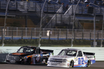 Todd Gilliland, Kyle Busch Motorsports, Toyota Tundra JBL/SiriusXM Austin Hill, Young's Motorsports, Chevrolet Silverado Young's Building Systems/Randco