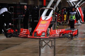 Ferrari SF-71H nose and front wing