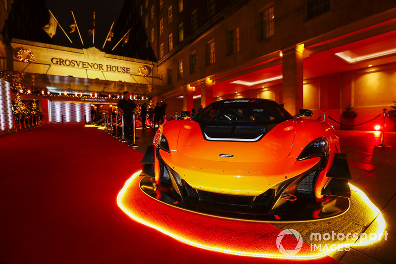 Car on the red carpet