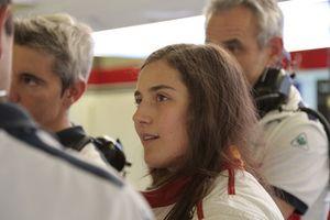 Tatiana Calderon, pilota collaudatrice, Sauber C37