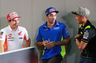 Marc Marquez, Repsol Honda Team, Andrea Iannone, Team Suzuki MotoGP, Hafizh Syahrin, Monster Yamaha Tech 3