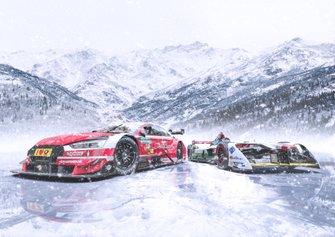 Audi RS 5 DTM and Audi e-tron FE04 Presentation