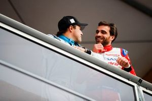 Фелипе Масса, Venturi Formula E Team, и Жером д'Амброзио, Mahindra Racing